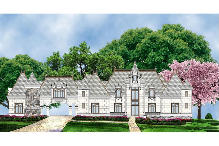 106-1295: Home Plan Rendering