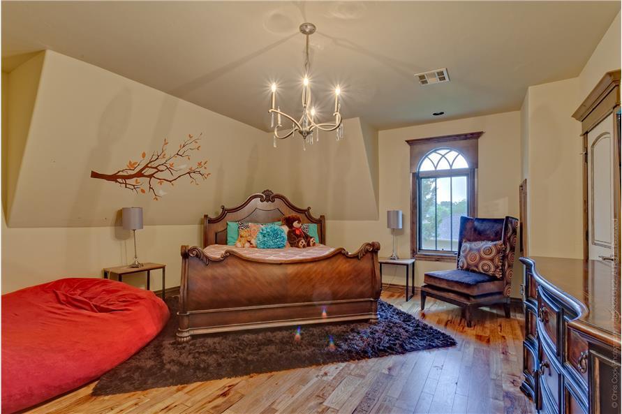 Bedroom of this 4-Bedroom,4458 Sq Ft Plan -4458