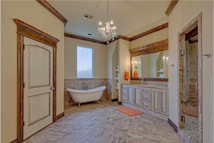 Bathroom of this 4-Bedroom,4458 Sq Ft Plan -4458