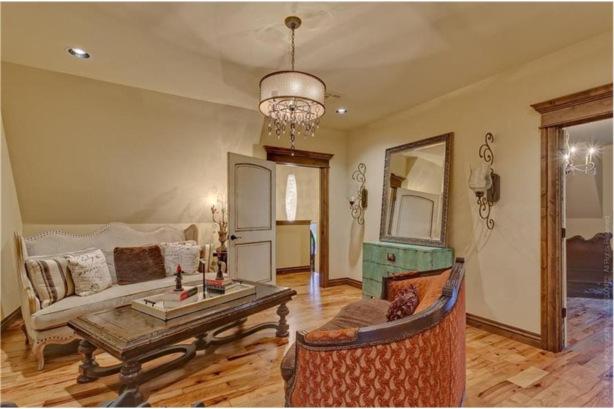 Sitting Room of this 4-Bedroom,4458 Sq Ft Plan -4458