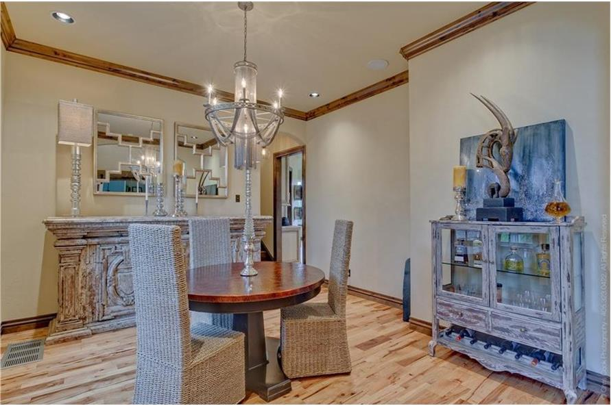 Dining Room of this 4-Bedroom,4458 Sq Ft Plan -4458