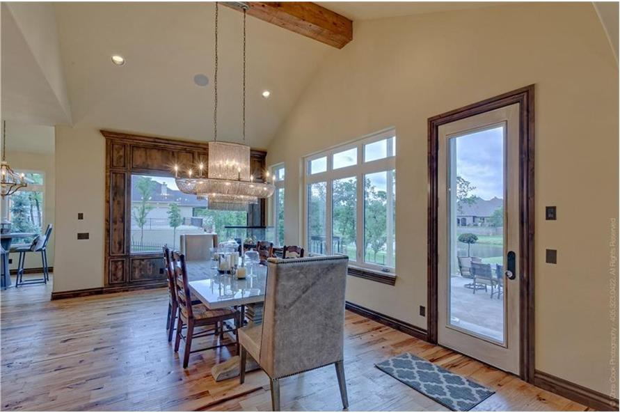 Family Room of this 4-Bedroom,4458 Sq Ft Plan -4458