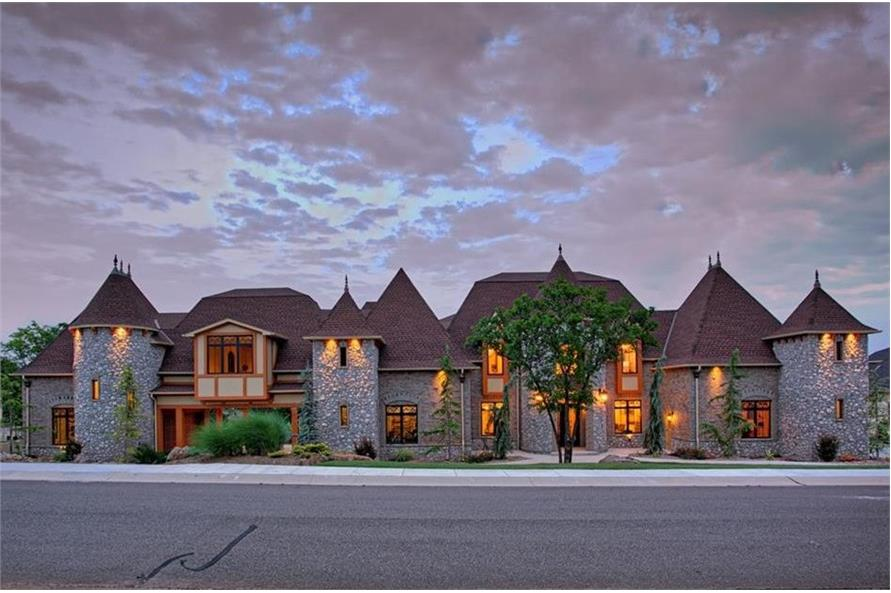 Home Exterior Photograph of this 4-Bedroom,4458 Sq Ft Plan -4458