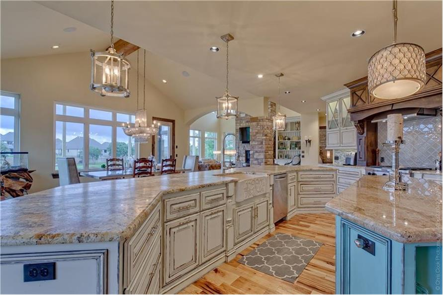 Kitchen of this 4-Bedroom,4458 Sq Ft Plan -4458