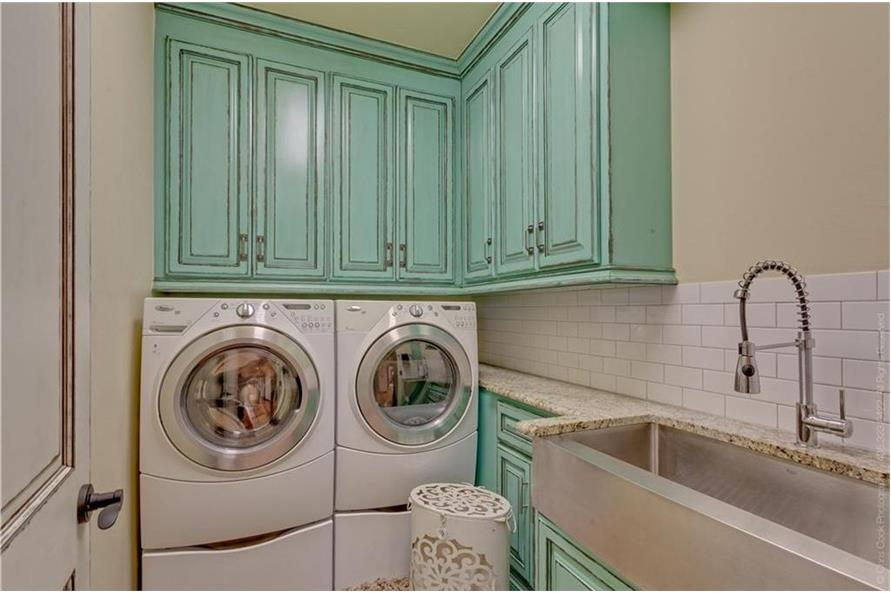 Laundry Room of this 4-Bedroom,4458 Sq Ft Plan -4458