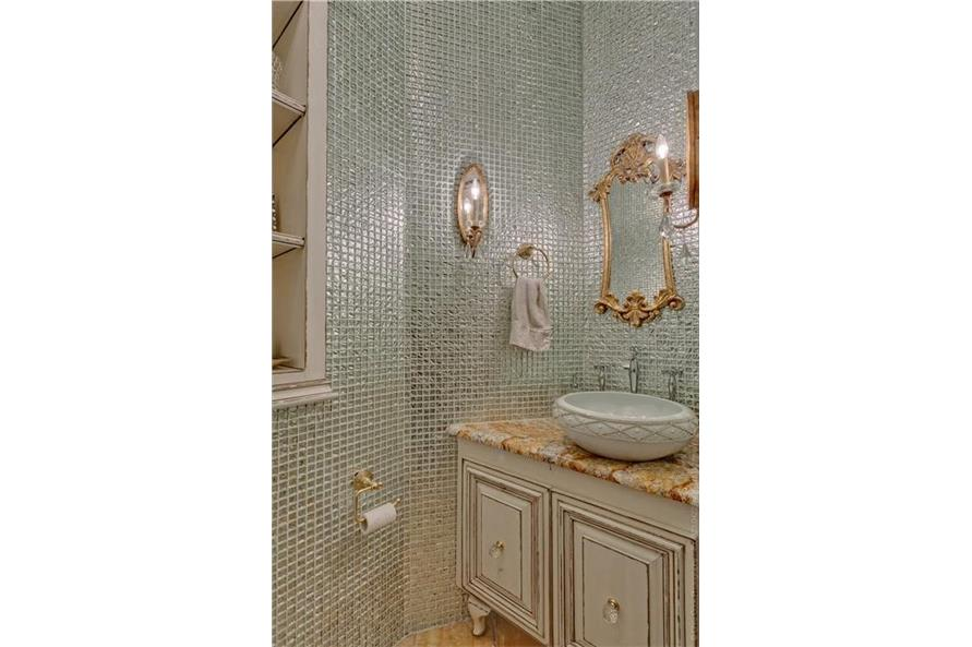 Powder Room of this 4-Bedroom,4458 Sq Ft Plan -4458