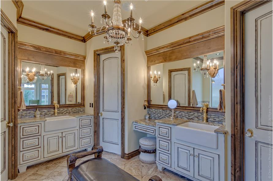 Master Bathroom of this 4-Bedroom,4458 Sq Ft Plan -4458