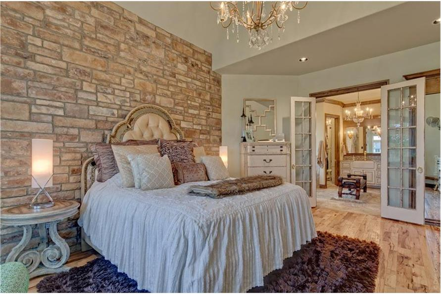 Master Bedroom of this 4-Bedroom,4458 Sq Ft Plan -4458