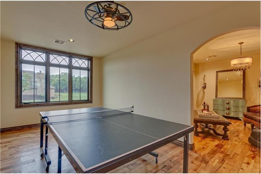 Playroom of this 4-Bedroom,4458 Sq Ft Plan -4458