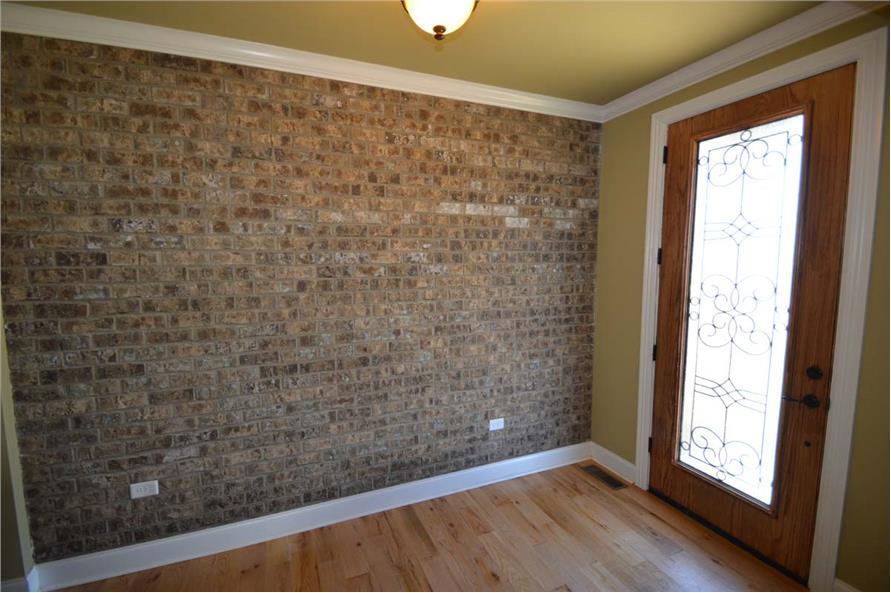 106-1296: Home Interior Photograph-Entry Hall: Foyer