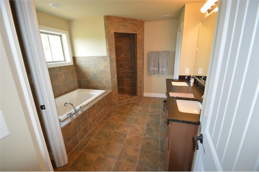 106-1296: Home Interior Photograph-Master Bathroom