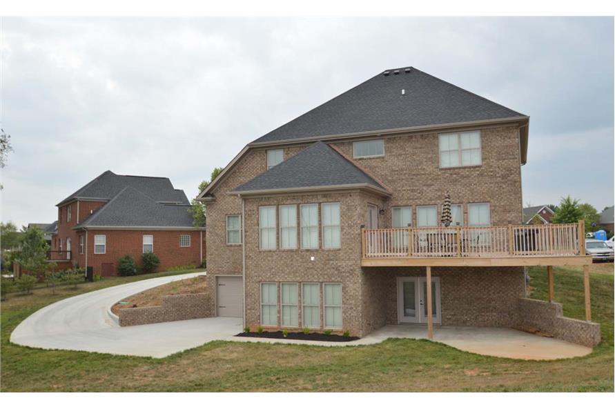 106-1296: Home Exterior Photograph-Rear View