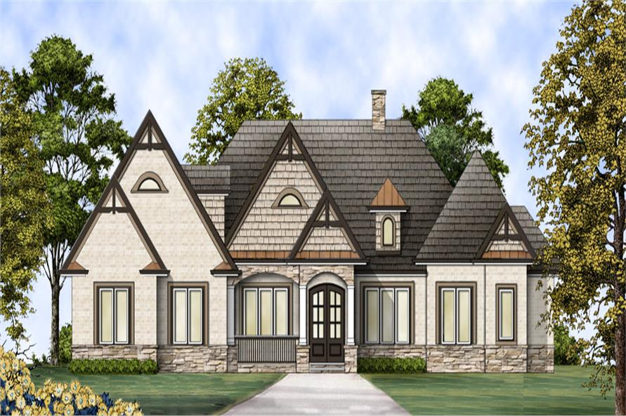106-1305: Home Plan Rendering