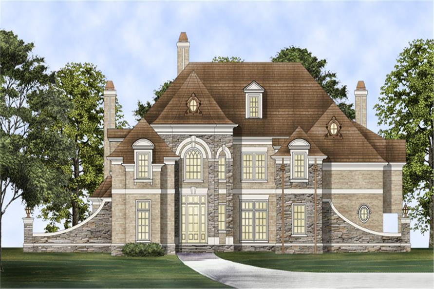 106-1306: Home Plan Rendering
