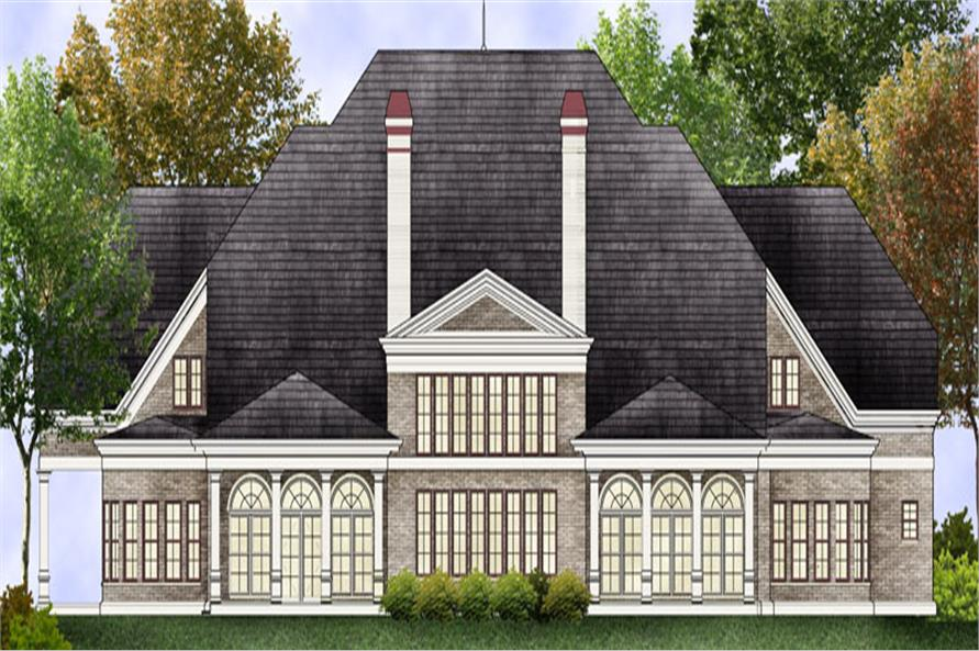 106-1307: Home Plan Rendering