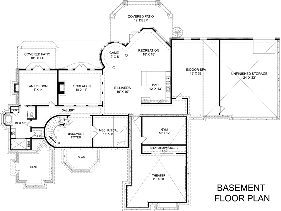 European house plan 106 1308 4 bedrm 4962 sq ft home for European house plans with basement