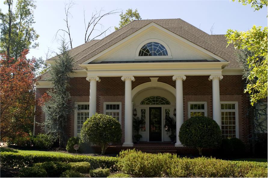 106-1312: Home Exterior Photograph-Front Door