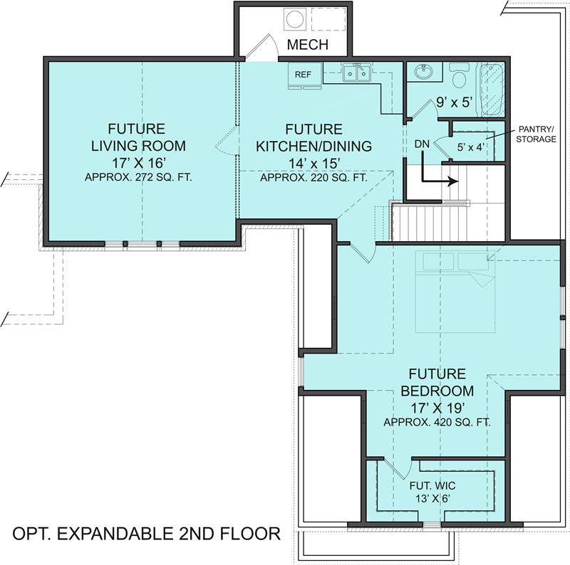 Modify house plan 106 1313 - House plans one story with basement collection ...