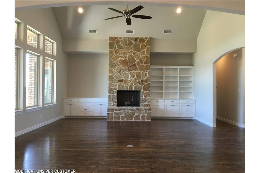 Great Room of this 4-Bedroom,2956 Sq Ft Plan -2956