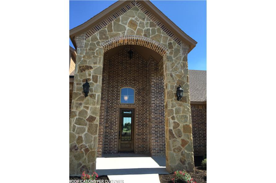 Front Door of this 4-Bedroom,2956 Sq Ft Plan -2956