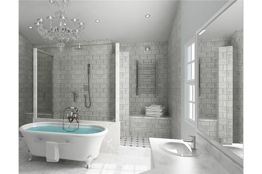 106-1315: Home Plan Other Image-Master Bathroom