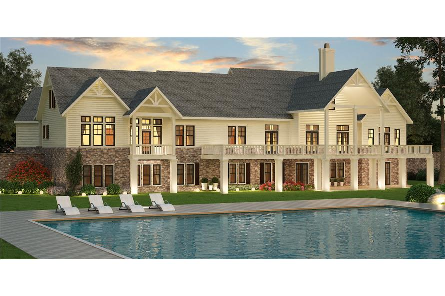 106-1315: Home Plan Rendering