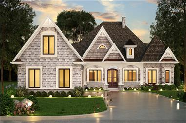 3-Bedroom, 2315 Sq Ft Ranch House - Plan #106-1321 - Front Exterior