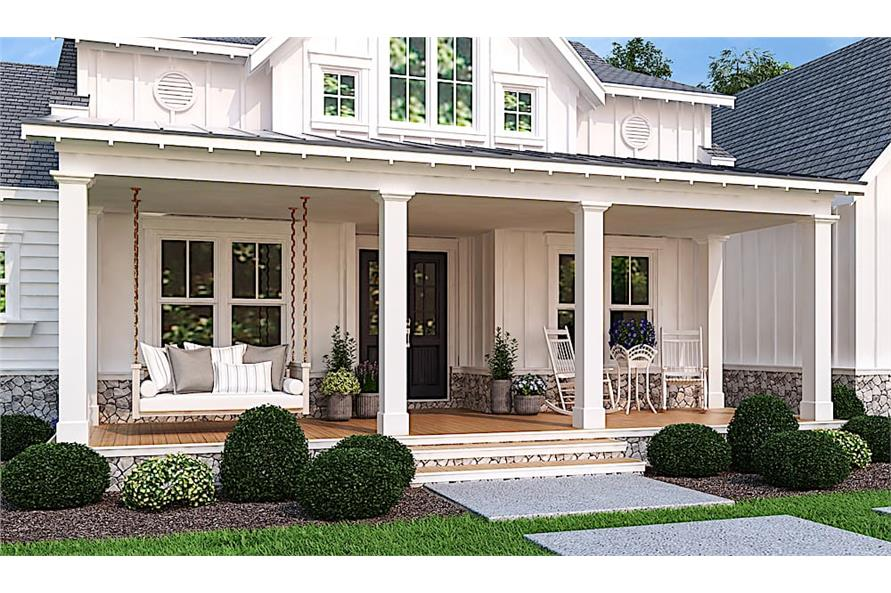 Porch of this 3-Bedroom,2484 Sq Ft Plan -2484