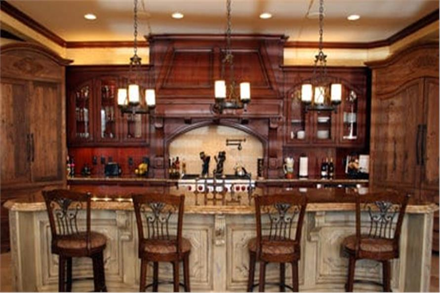 Kitchen of this 7-Bedroom,8628 Sq Ft Plan -106-1325