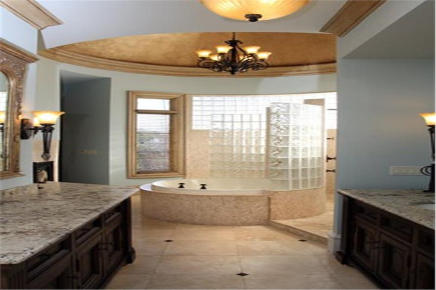 Master Bathroom of this 7-Bedroom,8628 Sq Ft Plan -106-1325