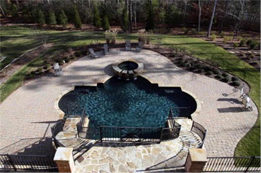 Rear View of this 7-Bedroom,8628 Sq Ft Plan -106-1325