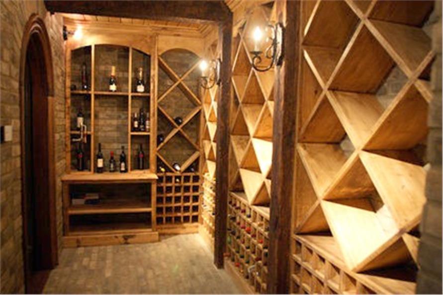 Wine Cellar of this 7-Bedroom,8628 Sq Ft Plan -106-1325