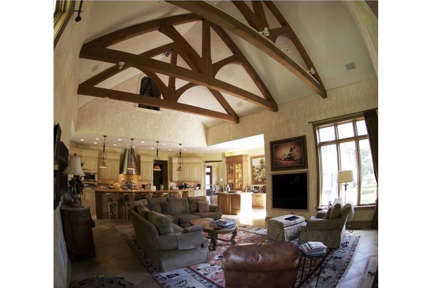 Living Room of this 7-Bedroom,8628 Sq Ft Plan -106-1325