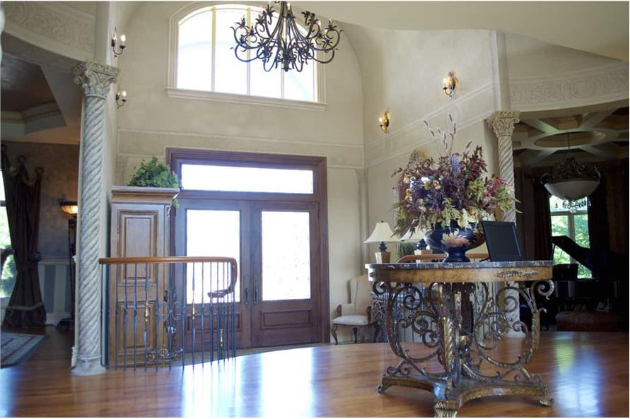 Entry Hall: Foyer of this 7-Bedroom,8628 Sq Ft Plan -106-1325