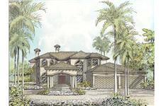 Main image for luxury house plan # 18890