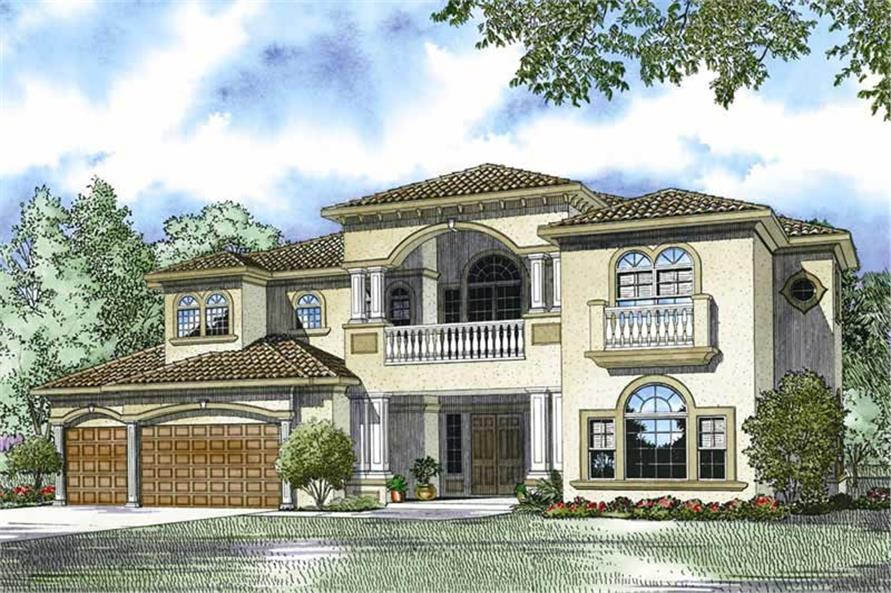 Rendering of this 5-Bedroom,5030 Sq Ft Plan -5030