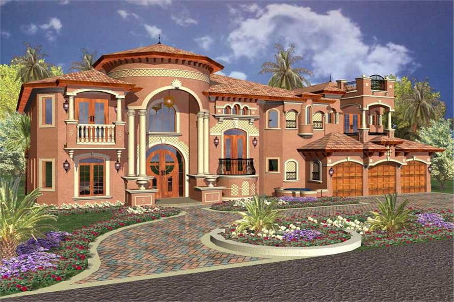 Luxury Home with 6 Bdrms, 6664 Sq Ft | Floor Plan #107-1011
