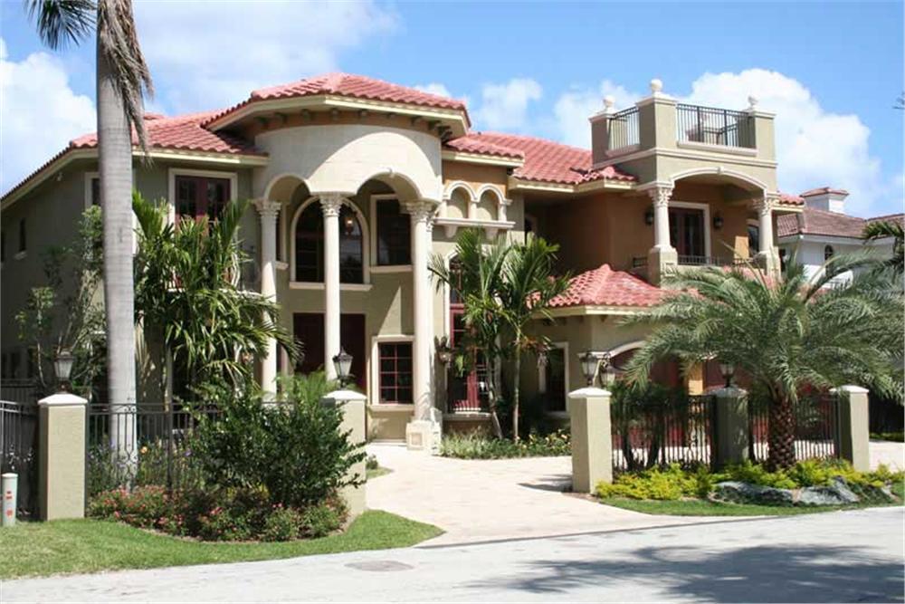 Luxury House Plans 107-1011 color photo.