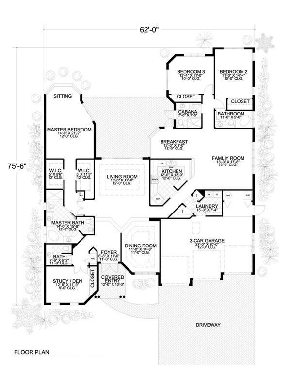 Mediterranean House Plans Home Design 18754