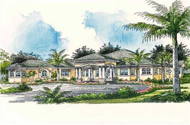 Main image for house plan # 18753