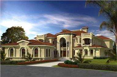 Luxury House Plans Mansion Plans The Plan Collection