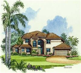 House Plan #107-1027