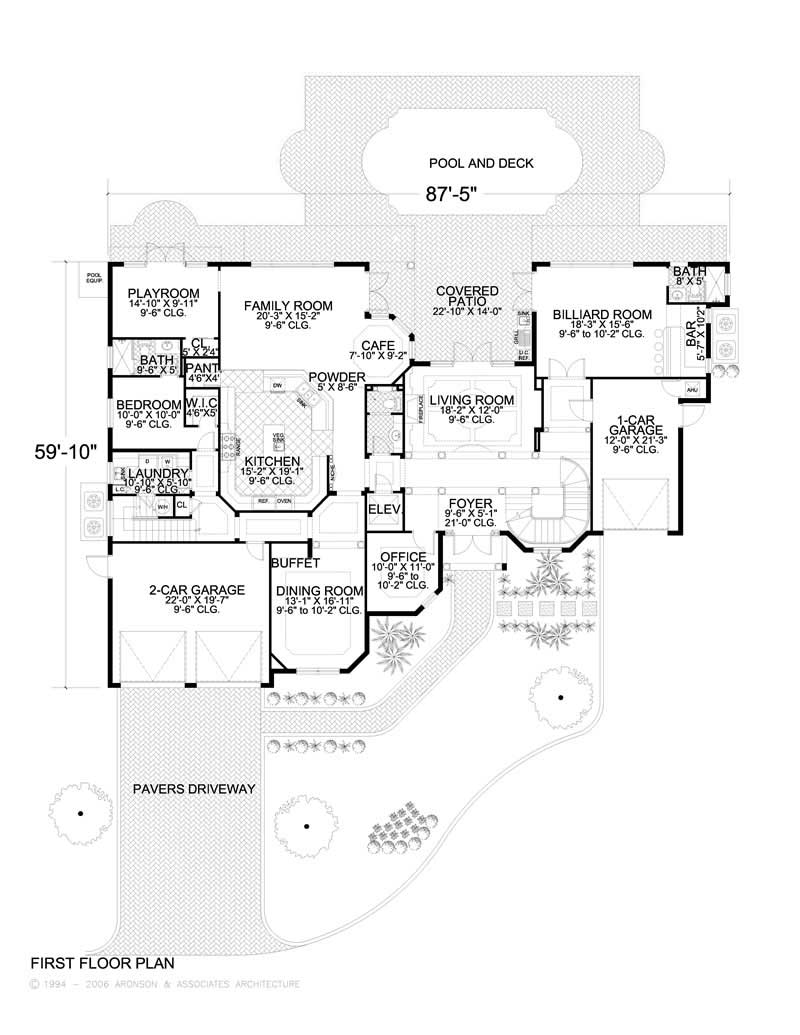 AA HOUSE PLAN