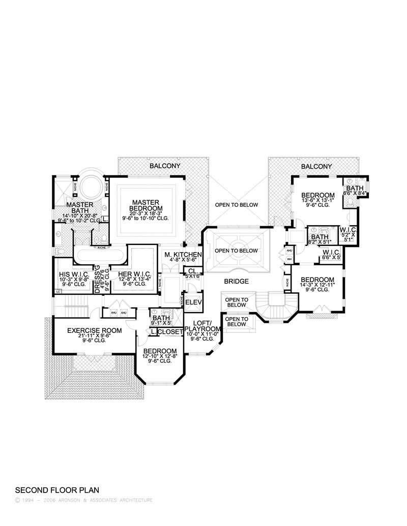 Luxury home with 5 bdrms 6096 sq ft floor plan 107 1040 for 1040 square foot house plans