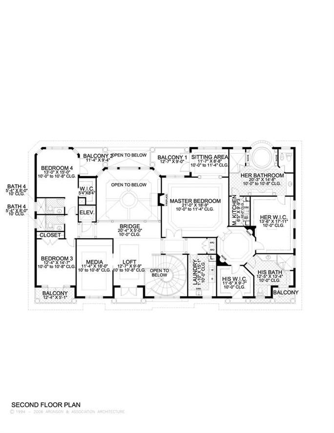 Luxury Home with 4 Bdrms 6009 Sq Ft Floor Plan 107 1041