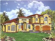 View house Plan#107-1043