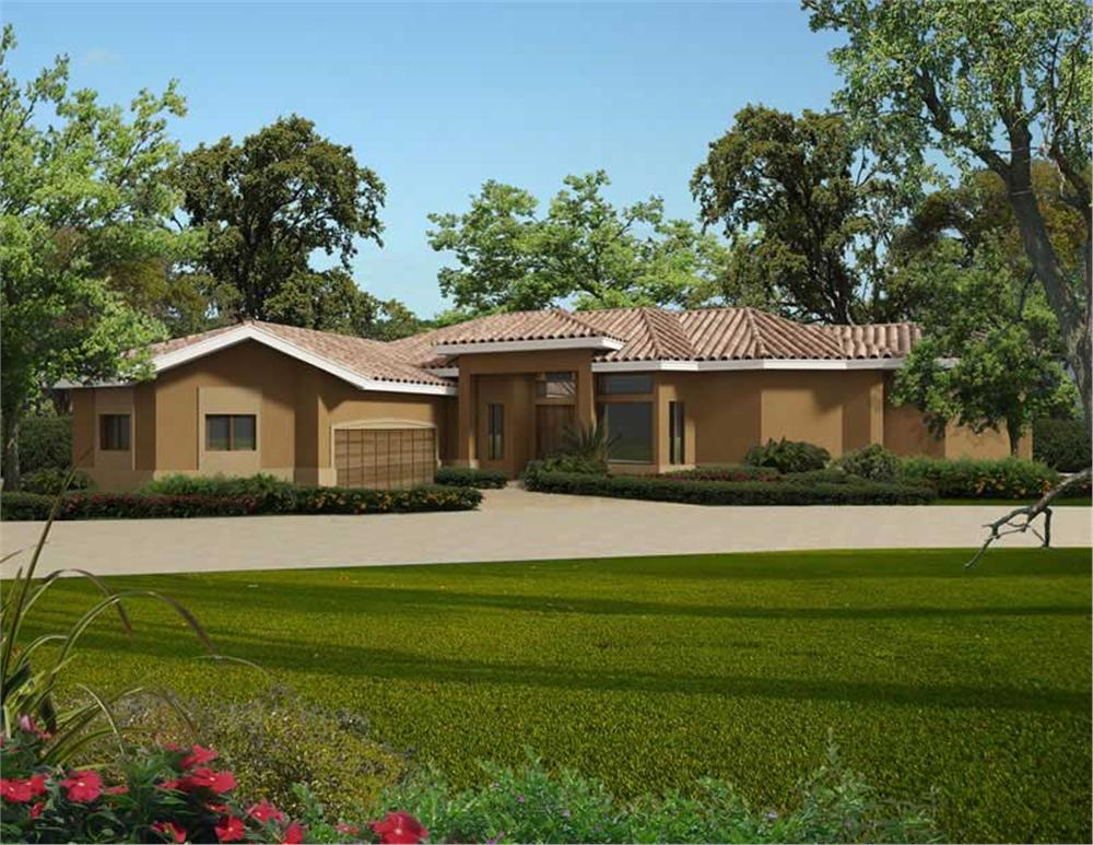 Main image for house plan # 20519