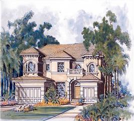 House Plan #107-1061