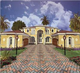 House Plan #107-1065