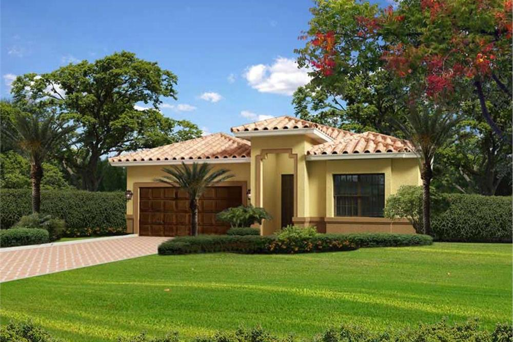 Florida House Plan With 4 Bedrooms 2 Baths 2441 Sq Ft